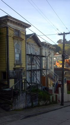 San Francisco's Bernal Heights has homes which are classic and desirable for those who like projects!
