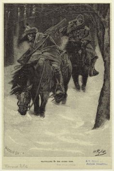 """Traveling in the olden time"" – illustration by Howard Pyle; Howard Pyle, Adventure Novels, Artsy Fartsy, Wilderness, Illustrators, Moose Art, Illustration Art, Traveling, Animals"