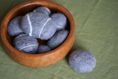 DIY Felted rocks: and instructions on how to make GIANT ones in the blog comments!