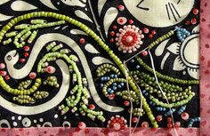Bead Embroidery - Quilting with Beads