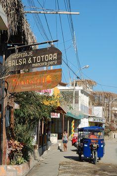 Mancora, Peru - America do Sul Ecuador, Bolivia Peru, Oh The Places You'll Go, Places To Travel, Places To Visit, Chile, Costa, Peru Travel, Restaurant