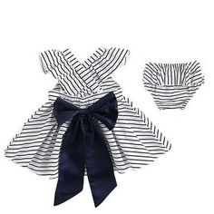 Striped Dress and Bloomer -40%