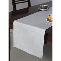 LivebyCare Elegant Polyester Leaves Table Runners for Home Decorative Home Dining Table Decorative Polyester Embroidery Tea Table Runner Coffee 13 by 108 Inches