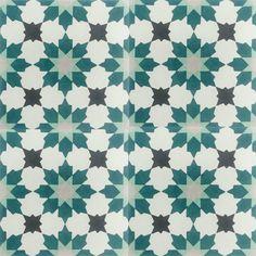 Encaustic Cement Tile A411-E | Hadeda Tiles Stair Risers, Encaustic Tile, Floor Decor, Wall Tiles, Cement, Facade, Swimming Pools, Flooring, Room Tiles