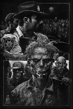 The Walking Dead •Eddy Newell