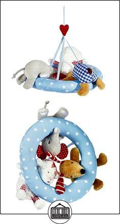 Baby Charms Curious Tres amigos, Mobile, 21cm, modelo # 12620  ✿ Regalos para recién nacidos - Bebes ✿ ▬► Ver oferta: http://comprar.io/goto/B010ZXFHF4
