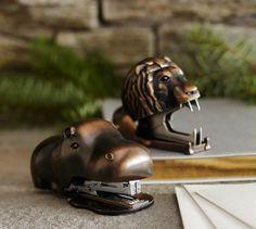 Hippo Stapler - Lion Staple Remover