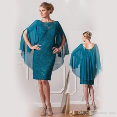 Image result for mother of the bride dresses knee length plus size