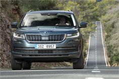All About Automotive: Bye Bye Tiguan: The Skoda Kodiaq in Test Ford Endeavour, Engine Start, Four Wheelers, Android Auto, Diesel Engine, Bye Bye, Automatic Transmission, Product Launch, Range