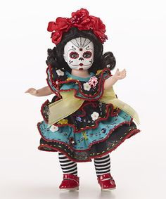 Another great find on #zulily! Dia De Los Muertos 8''  Doll #zulilyfinds