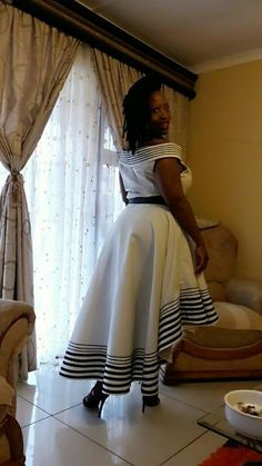 Xhosa Attire, African Attire, African Wear, African Fashion Dresses, African Dress, Chitenge Outfits, Shweshwe Dresses, Africa Style, African Traditional Dresses