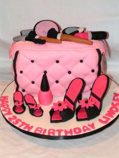 Cute girly cake