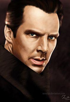 Khan by on DeviantArt Star Trek Tv, Star Wars, Stark Trek, Star Trek Into Darkness, The Final Frontier, Bbc, Fanart, Fan Art, Starwars