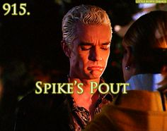 Spike on Buffy