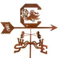 University of South Carolina Gamecocks weathervane
