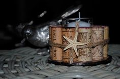 Wine cork votive - great!!  Etsy   TWO for $18.00
