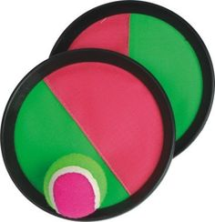 Dazzling Toys Velcro Ball and Catch Game:  An option for adaptive PE or track & field days. The ball adheres easily to these colorful round mitts, just like velcro. Each set includes two mitts and one ball in Net packing. Great for indoor and outdoor play!