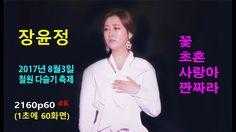 장윤정 - (2160p60 4K) 꽃 / 초혼 (招魂) / 사랑아 / 짠짜라 (2017년 8월3일)