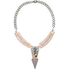 Fenton - Crystal Raleigh V Bib Necklace