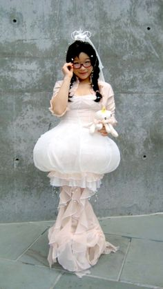 Tsukimi Kurashita cosplay, from Kuragehime (Princess Jellyfish)