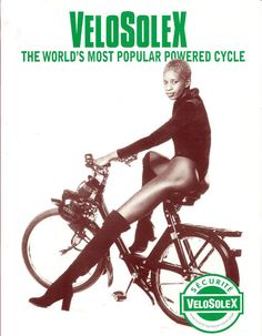 Mopeds designerVelosolex