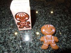 Avon Gingerbread Pin