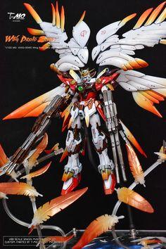 Custom Build: MG 1/100 Wing Gundam Proto + Zero EW - Gundam Kits Collection News and Reviews