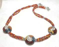 Hey, I found this really awesome Etsy listing at https://www.etsy.com/listing/243166769/three-strand-necklace-multi-strand