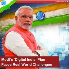 Narendra Modi has initiated his 'Digital India' project to connect India digitally and deliver government programs and services to individuals across India. But the project is facing many challenges relating to security, cyber laws, infrastructure, and other.