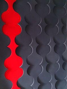 Fluffo, Fabryka Miękkich Ścian - pomysł na ścianę, aranżacja ściany. Projekt by: osoba prywatna.
