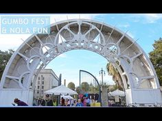 Gumbo Fest & NOLA Fun - YouTube Vlog- We go to the Treme Creole Gumbo Festival, walk around the French Quarter, go to the French Market and eat along the Mississippi River.