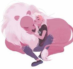 Lion and Lars #sitting