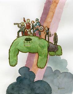 The Avengers   Scott C.