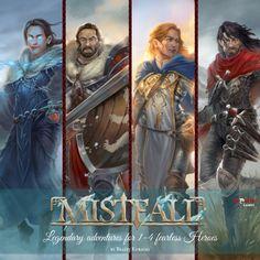 Mistfall - Legendary adventures for 1-4 fearless Heroes | Prefundia