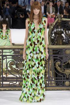 John Galliano womenswear, spring/summer 2015, Paris Fashion Week
