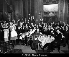 German-Americans celebrate the end of Prohibition. The saloon at the Chicago's Bismarck Hotel started serving beer early in the Stock Photo