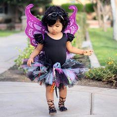 Our Wild Halloween Tutu #rufflesandtutus #toddlercostume #halloween #kidsofinstagram #kidsfashion