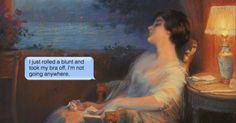 12 crude texts that pair surprisingly well with classical paintings