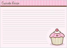 Gingerbread Recipe Cards   Recipe Cards    Recipe