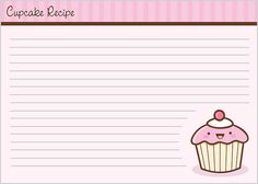 Cupcake Recipe Card - 2 by Jerrod Maruyama, via Flickr
