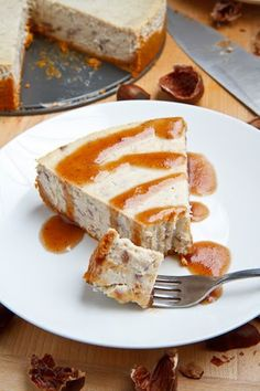 Chestnut Cheesecake, chestnut pure, boiled chestnut.