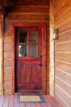 A Wonderland In Winter | Front doors, Doors and Winter