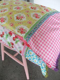 Crochet edge pillowcases