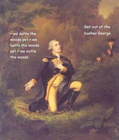 George as Taylor Swift Adventures of George Washington