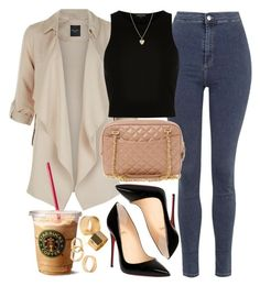 A fashion look from January 2016 featuring crop tops, pink coats and skinny jeans. Browse and shop related looks. Classic Outfits, Cute Casual Outfits, Pretty Outfits, Casual Chic, Stylish Outfits, Beautiful Outfits, Teen Fashion Outfits, Fall Outfits, Womens Fashion