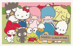 Say Hello to Kitty — pourprelin: Sanrio Sanrio Wallpaper, Stars Wallpaper, Wallpaper 2016, Hello Kitty Wallpaper, Pochacco, Little Twin Stars, My Melody, Fb Covers, Unique Art