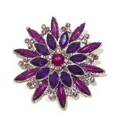 Purple & Violet Color Austrian Rhinestone Star