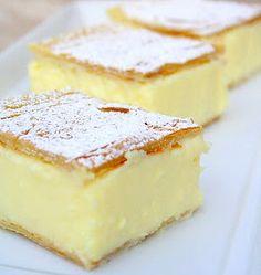 Recipes, Dinner Ideas, Healthy Recipes & Food Guide: Vanilla Slice