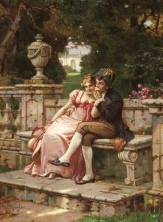 Wilhelm Menzler The kiss