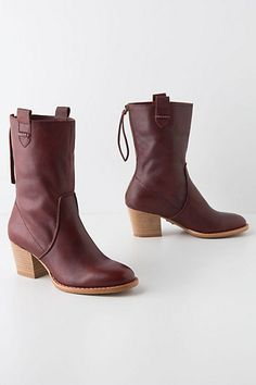 North Country Boots -  Just got these. LOVE the burgundy leather look, and so comfy. Perfect footwear for my trip back to Boston this weekend!